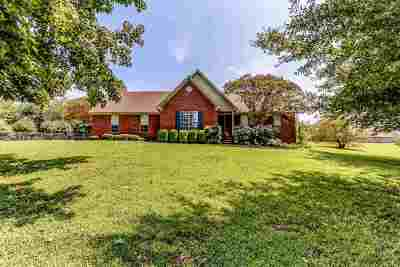 Atoka Single Family Home Contingent: 115 Squire's Grove