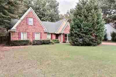 Collierville Single Family Home Contingent: 571 Hermitage Trail