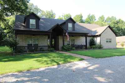 Atoka Single Family Home Contingent: 853 J E Blaydes