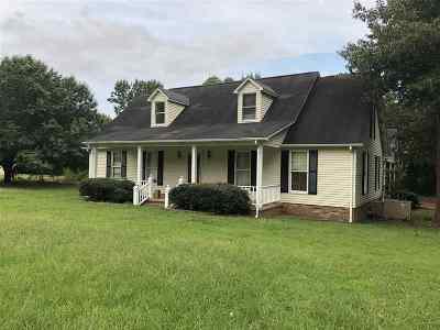 Selmer Single Family Home For Sale: 1263 Poplar