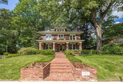 Memphis Single Family Home For Sale: 489 Stonewall