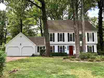 Germantown Single Family Home For Sale: 2189 Coachman