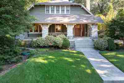 Central Gardens Single Family Home For Sale: 1852 Central