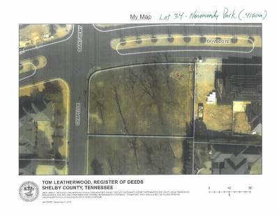 Memphis Residential Lots & Land For Sale: 6195 Dovecote