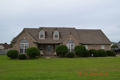 Atoka Single Family Home For Sale: 315 Rosemark