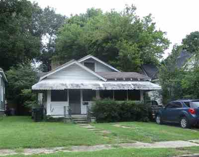 Cooper, Cooper Young Single Family Home For Sale: 1752 Vesey