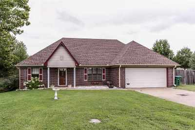 Atoka Single Family Home For Sale: 1515 Rosemark
