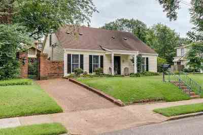 Memphis Single Family Home For Sale: 580 S Barksdale