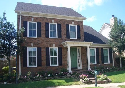 Collierville Single Family Home Contingent: 9895 Blair