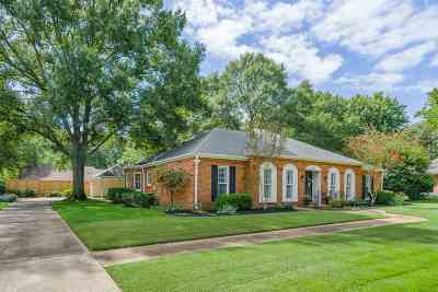 Memphis Single Family Home Contingent: 6737 Hickory Crest
