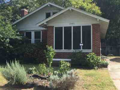 Cooper Young Single Family Home For Sale: 1985 Walker
