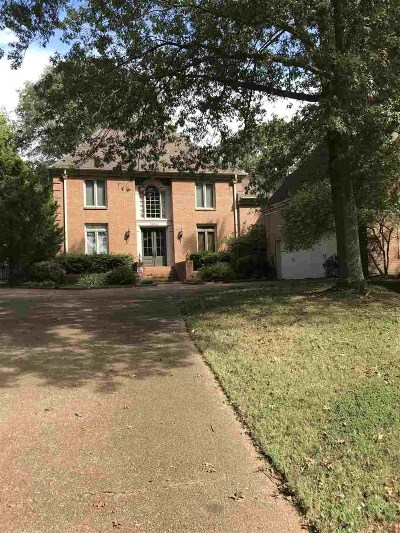 Collierville Single Family Home For Sale: 2864 W Levee Oaks