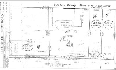 Collierville Residential Lots & Land For Sale: LOT 3D Herbers
