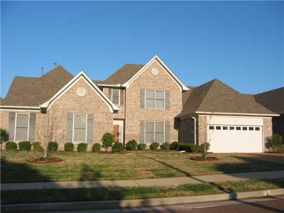 Collierville Rental For Rent: 4929 Fox Springs
