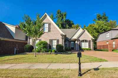 Bartlett Single Family Home For Sale: 8746 Brunswick Forest