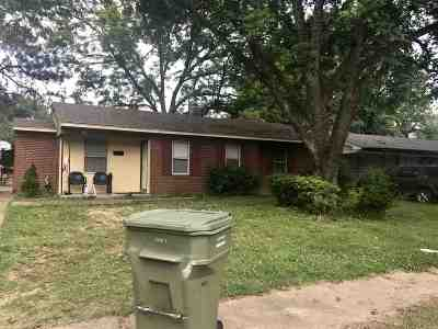 Memphis TN Single Family Home For Sale: $74,900