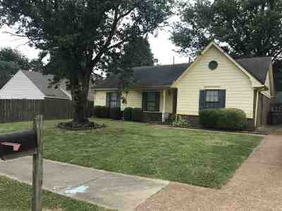 Memphis TN Single Family Home For Sale: $89,500