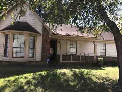 Memphis TN Single Family Home For Sale: $98,500