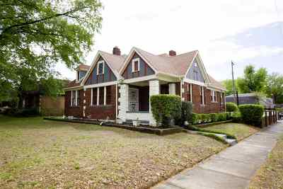 Memphis Single Family Home For Sale: 933 N McLean