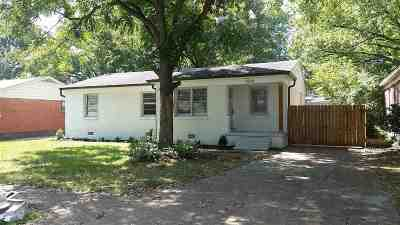 Memphis TN Single Family Home For Sale: $149,900