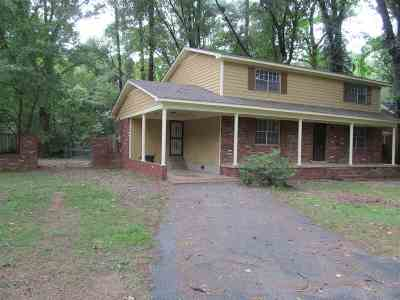 Memphis TN Single Family Home For Sale: $109,900