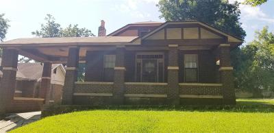 Memphis TN Single Family Home For Sale: $65,000