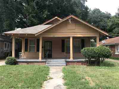 Memphis Single Family Home For Sale: 3314 Bowen