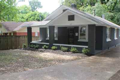 Memphis Single Family Home For Sale: 467 Haynes