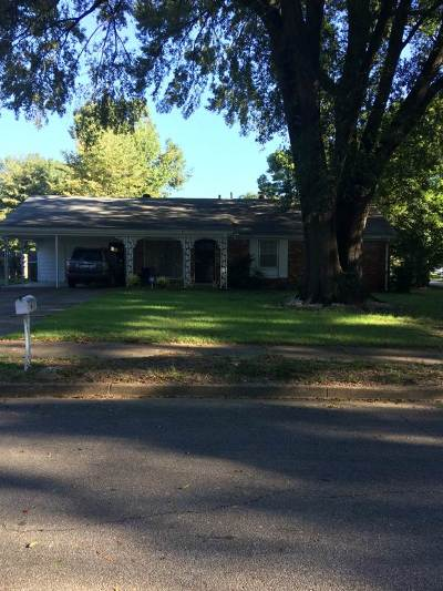 Memphis Single Family Home For Sale: 3234 Gina
