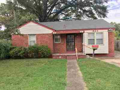 Memphis Single Family Home For Sale: 823 Bartlett