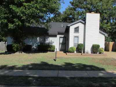 Memphis Single Family Home For Sale: 5393 Sputnik