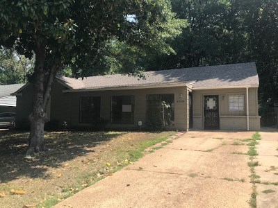 Memphis Single Family Home For Sale: 3710 Vanderwood