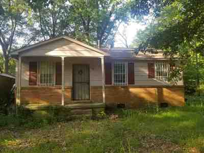 Memphis TN Single Family Home For Sale: $17,875