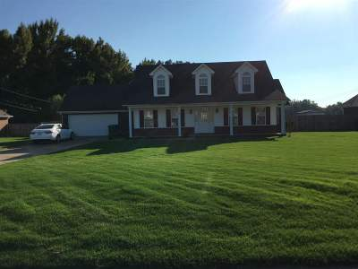 Atoka Single Family Home For Sale: 490 Kearns