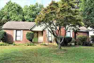 Bartlett Single Family Home For Sale: 3935 Clover Hill