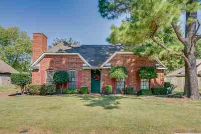 Memphis Single Family Home For Sale: 7654 Glenfield