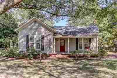 Collierville Single Family Home For Sale: 302 S Collierville-Arlington