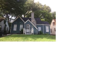 Memphis Single Family Home For Sale: 2388 Arlington