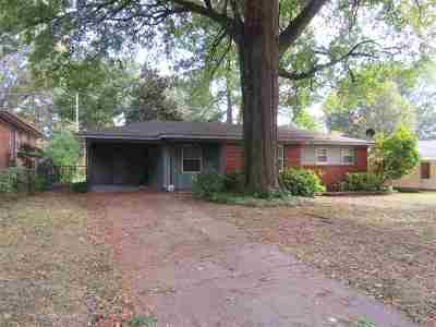 Memphis Single Family Home For Sale: 1486 Wilbec