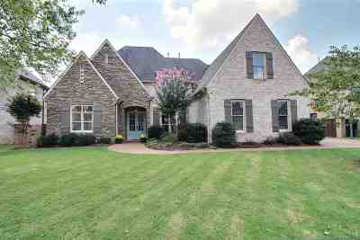 Collierville Single Family Home For Sale: 1307 Bull Creek