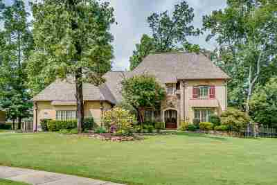 Collierville Single Family Home Contingent: 1039 E Old Hearthstone