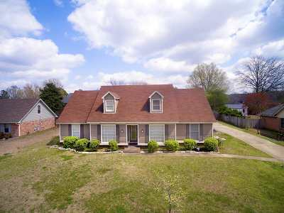 Collierville Single Family Home For Sale: 1124 Winrose