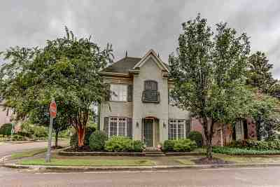 Collierville Single Family Home Contingent: 339 Park Manor