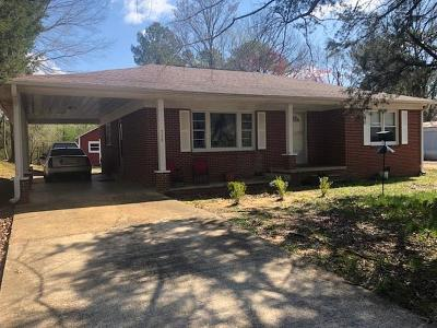 Selmer Single Family Home For Sale: 733 Circle Hill
