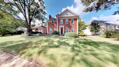 Memphis Single Family Home For Sale: 3245 Club Breeze