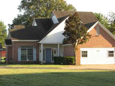Brighton Single Family Home For Sale: 5194 Old Memphis