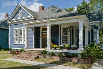 Memphis Single Family Home For Sale: 1800 Linden