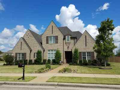 Collierville Single Family Home For Sale: 1454 Martway