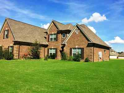 Atoka Single Family Home For Sale: 96 Buck Trail