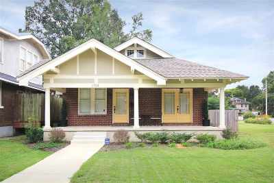 Memphis Single Family Home For Sale: 1723 Peach